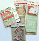 Crate Paper  Bundled Up 6x6 Paper Pad  Embellishments Save 50
