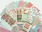 Crate Paper  Bundled Up 12 x 12 Paper  Embellishments Set C Save 60