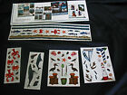 CREATIVE MEMORIES GREAT LENGTH STICKERS Sports Travel Scenic Die Cut Landscapes