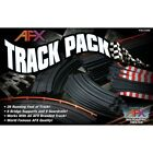 AFX Track Pack Slot Car Expansion Set 26 Feet of Straights Curves  Squeezes