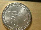 white sands missile range new mexico 25th anniversary .925 silver medal