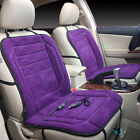 Universal Car Heated Seat Cushion Cover 12v Heating Heater Warmer Pad Winter New