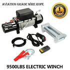 9500lbs12V Electric Winch for TruckJeepTrailer for SUV Wireless Remote Control
