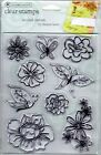 Autumn Leaves clear Stamps Second Nature