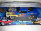 MUSCLE MACHINES FUNLINE 1966 66 FORD MUSTANG BLUE FLAMES 289 PRO STREET HOT ROD