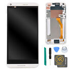 Original White Display LCD Touch Screen Digitizer + Frame for HTC Desire 816 US