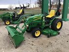 2010 JOHN DEERE 2720 72 DECK 200CX LOADER   132009