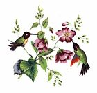 Hummingbird Flowers Select A Size Waterslide Ceramic Decals Xx