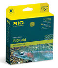 RIO GOLD NEW WF 5 F 5 WEIGHT FORWARD FLOATING FLY LINE MOSS  GOLD MAXCAST