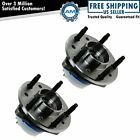 Front Wheel Hub  Bearing Pair for Malibu Alero Cutlass Grand Am w ABS