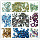100pcs Faceted Teardrop Glass Crystal Loose Spacer Beads DIY 5X3mm