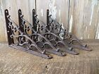 Lot 4 Antique-Style Rustic Brown Cast Iron SMALL 5 1/4