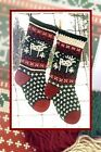Annies Woolens Christmas Stocking Kits- Complete W Pattern Yarn