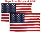 3x5 American Flag w Grommets 2 Pack USA United States of America US Flags