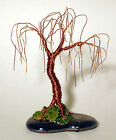 Oak Bonsai Mini Wire Tree Sculpture by Sal Villano ORIGINAL