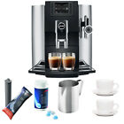 Jura E8 Espresso Machine + Cleaning Tablets, Cups, Smart Filter, Froth Pitcher