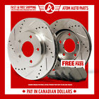 1993 1994 1995 1996 1997 Geo Prizm Slotted Drilled Rotor  Ceramic Pads Front
