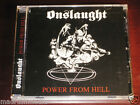 Onslaught: Power From Hell CD 2008 Candlelight USA Records CDL0277CD NEW