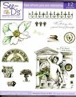 See Ds Unmounted Stamps Gothic Magnolia