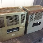 Pair Of Motiograph MA 7505 A Old Theater Tube Amplifier Era Western Elec Altec