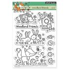 PENNY BLACK RUBBER STAMPS CLEAR WOODLAND FRIENDS STAMP SET