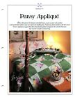 Pansy Applique Quilt  Block Best Loved Quilt sewing pattern  templates