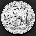 2010 P MINT Yellowstone National Park Quarter WY Uncirculated Clad