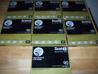 7 NEW Scotch Professional Tape SEALED BLANK Reel To Reel 207-1/4-R90 1 mil 1800