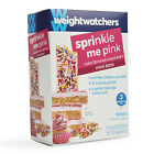 New in Box Weight Watchers SPRINKLE ME PINK CAKE Mini Bars 12 Bars 3 Points each