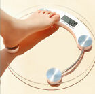 180KG 400lb Digital LCD Glass Scale Body Weight Watchers High Precision