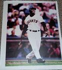 BARRY BONDS Signed Auto San Francisco Giants 16x20 Canvas Photo JSA