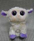 TY BEANIES BOOS Sheep Clover Stuffed toy missing tags and heart tag6 inch