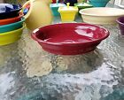 FIESTA OVAL vegetable BAKER SERVING BOWL cinnabar NEW
