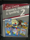A Beka ABeka Phonics Reading Spelling 2 Curriculum Lesson Plans Spiral 97500003