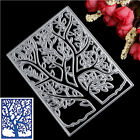 Spring Trees Metal Cutting Dies Stencil Scrapbooking Cards Paper Embossing Craft