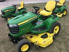 2016 John Deere X734 ALL WHEEL STEER EFI 2WD 60HC DRIVE OVER DECK  133165