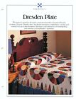 Dresden Plate Quilt  Block Best Loved Quilt sewing pattern  templates