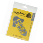 Waffle Flower Crafts 310049 Mini Trifold Notes Die Grey