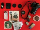 Canon EOS Rebel T4i 650D 180 MP Camera Kit w 18 135mm Canon Lens + Extras