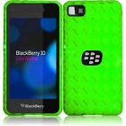 For Blackberry Z10AT  T T Mobile Sprint Verizon TPU Gel Phone Case Green