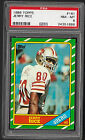 1986 TOPPS FOOTBALL COMPLETE SET - 396 Cards JERRY RICE RC PSA 8 ROOKIE