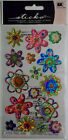 Spring Blooms Dimensional Stickers 16 Pcs EK Success Free Shipping NIP