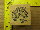 Rubber Stamp PSX Hummingbird and Flowers E546 Bird Nature Stampinsisters 2535