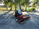 Toro 3150 Greensmaster Greens  Tee Reel Mower w Baskets 04357 3 Wheel Drive