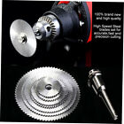 7pcs/set High Speed Steel HSS Circular Saw Blade Rotary Tool For Wood Cutting BH