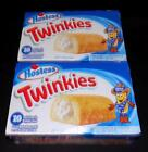 Hostess TWINKIES 2 Box Lot 10 ea. Individually Wrapped Cream Filled Golden Cake
