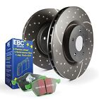 EBC Brakes S3KF1227 Stage 3 Truck and SUV Brake Kit 89 00 Sidekick Tracker