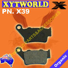 REAR Brake Pads APRILIA Caponord Rally 1200 Spoke Wheels 2015