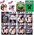 VINYL STICKER (Official) Large Range of Themes (Decal/Label/Laptop/School)