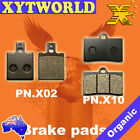 FRONT REAR Brake Pads for BENELLI 666 Scooter Born in Hell 125cc 1998 1999